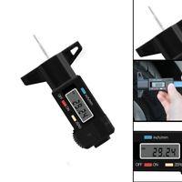 Digital LCD Coche Neumático Calibre De Profundidad Pisada Medidor 0-25mm