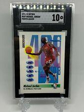 1991 Skybox Basketball Michael Jordan #307 SGC 10 GEM MINT
