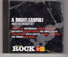 (HM865) A Right Earful!, 16 tracks various artists - 2000 Classic Rock CD