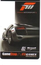FORZA MOTORSPORT 3 Limited Ed COLLECTIBLE Gift Card New No value RECHARGEABLE