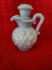 Vintage Avon Blue Floral Pitcher