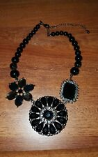 Premier designs Jewelry Crochet Necklace  Used Good Condition