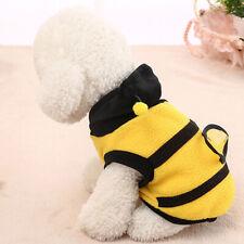 Dress Up Small Bumblebee Transfiguration Clothes Coat Winter New Pet Dog Cat MP
