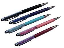 5x Bunt 2in1 2in1 Stylus Kugelschreiber Touch Pen Eingabe Stift Tablet Glitzer