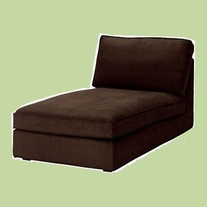 IKEA Kivik Chaise Lounge NEW Cover Tullinge Dark Brown(Mates Avail w/Discnt!)NIP