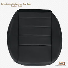 2008 Dodge Charger SE SXT R/T Driver Side Bottom Leather Seat Cover DARK GRAY