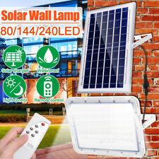 2000W LED Solar Flood Light Outdoor Garden Street Wall Lamp+Remote Control