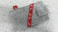 Smartphone Schutzhülle Handyhülle Handytasche hochwertiger Wollfilz Hirsch Elch