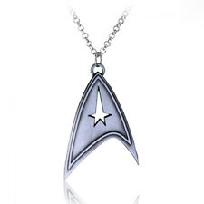 Silver Star Trek Insignia Necklace