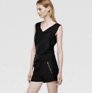 Gstar Raw Womens Jumpsuit Size Xs Black Short NEW WITH TAGS Rujara RRP $300