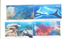 Australia-Barrier Reef set of 4 mnh -Marine life