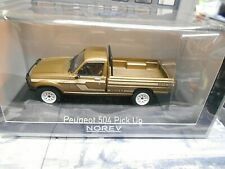 PEUGEOT 504 Pick up Dangel 4x4 Pick-up beige met. 1985 475457 Norev 1:43