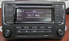 VW Car Stereo Radio RCN210 Bluetooth CD USB SD GOLF TIGUAN PASSAT CADDY POLO GTI