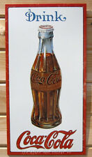Drink Coca Cola TIN SIGN metal vintage bottle art wall home bar decor coke 1210