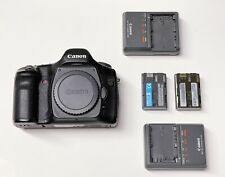 Canon EOS 5D Digital SLR Camera - Black (Body Only) with 2 chargers