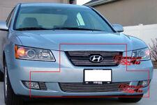 Fits 2006-2008 Hyundai Sonata Billet Grille Combo
