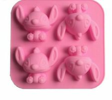 Stitch Cartoon Baby Star Silicone Mould Handmade Soap Mold Cake Decorating Tools
