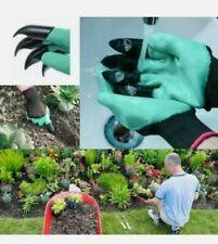 Plastic Claws Gardening Gloves Garden Gloves For Weeding Digging Stones Planting