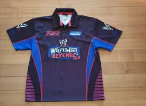 WWF World Wrestling 2005 Wrestle Mania Raw  XL Revenge Tour footy jersey