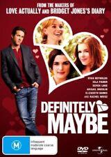 Definitely, Maybe DVD Ryan Reynolds Isla Fisher Kevin Kline Rachel Weisz