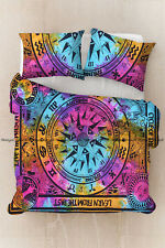 Indian multi compass duvet doona cover bohemian bedding quilt cover full size