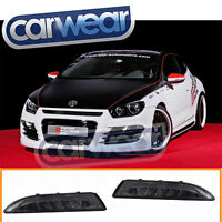 LED FRONT BUMPER INDICATOR LED DRL LIGHTS VW SCIROCCO III 08-11 12-14 SMOKE