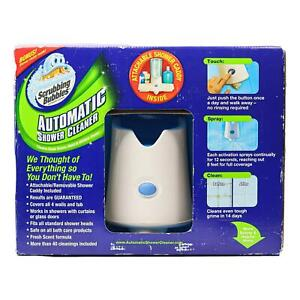 Scrubbing Bubbles Automatic Shower Cleaner Kit With 2-34 Oz. Refill Shower Caddy