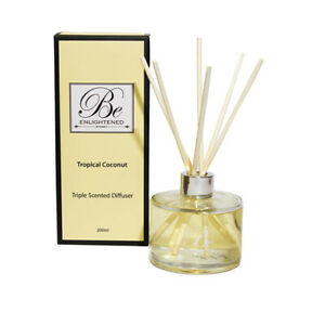 Triple Scented Diffuser 500ml Tropical Coconut by Be Enlightened RRP $89.99