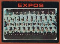 1971 Topps #674 Montreal Expos Team VG-VGEX Rusty Staub FREE SHIPPING