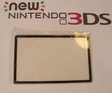 Nintendo New 3DS Replacement Top Screen Black Cover Lens Repair part Plastic