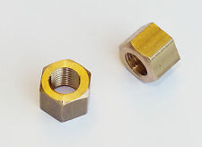 Pair Austin Healey 3000 and MGC Solid Brass Exhaust Manifold Nut AEC350