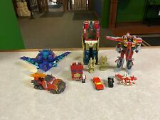 Original Vintage G2 Hasbro & Cybertron Transformers Figures LOT