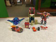 Original Vintage G2 Hasbro & Cybertron Transformers Figures LOT