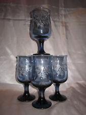 4 Pc Vintage PFALTZGRAFF Yorktowne 12 oz STEMWARE DRINKING WATER GLASSES Goblets