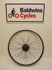 """26"""" REAR DISC BRAKE Q/RELEASE Bike Wheel D/WALL BLACK + 6 Speed Freewheel"""