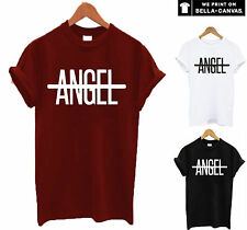 no angel t shirt unisex top flawless haunted love rhianna beyonce inspired slay