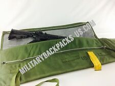 US Military rifle gun case padded weapon range bag M4 16 AR15 airborne OD green