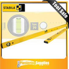 Stabila Spirit Level  2 Piece set  200cm & 60cm Box Level Pack Type 70/200/60