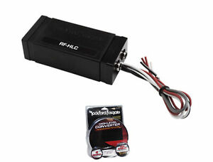 Rockford Fosgate 2-Channel High to Low Level Signal Converter RF-HLC