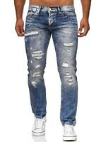 Redbridge Herren Jeans Hose Pants Skinny Fit Denim Jeanshose Destroyed Ripped