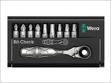 Wera WER073645 BCBR9 Zyklop Bit-Check Ratchet & Bit Set of 10
