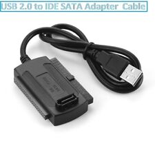USB 2.0 to SATA/IDE Converter HDD Cable for 2.5''/3.5'' Hard Drive CD DVD RW Rom
