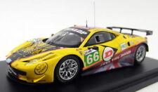 Voitures des 24 Heures du Mans miniatures jaune Ferrari