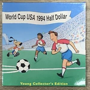 1994 USA World Cup Half Dollar Young Collector's Edition