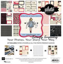 Jenni Bowlin Collection Kit 12X12 Scrapbooking Kit Echo Park Photo Freedom New