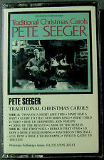 Pete Seeger - Traditional Christmas Carols (Cassette, 1989, Smithsonian) NEW