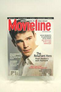 MOVIELINE Vintage Magazine July 2001 JOSH HARTNETT Interview Photos Pics