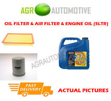 PETROL OIL AIR FILTER + FS PD 5W40 FOR LAND ROVER DISCOVERY 2.0 136 BHP 1993-98