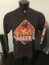 Rare Damageplan New Found Power 2004 Tour Original Long Sleeve Shirt Mens Large