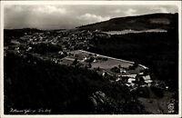 Jonsdorf Zittauer Gebirge Sachsen alte DDR Postkarte 1951 Panorama Gesamtansicht